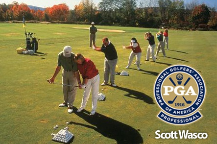 One-Hour Private Lesson with PGA Professional Scott Wasco