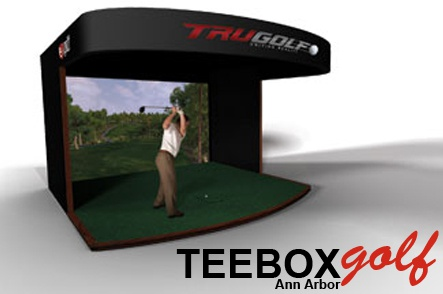 One Hour of Simulator Golf