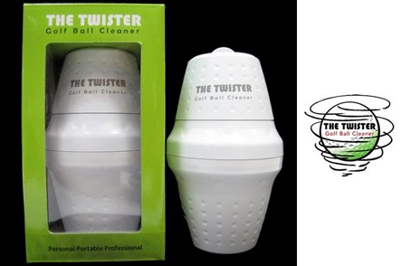 One 'The Twister' Portable Golf Ball Cleaner