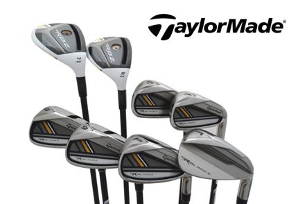 One Set of TaylorMade RocketBladez Irons