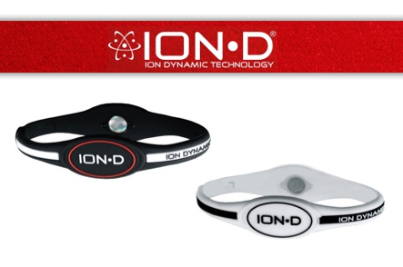 2-Pack of Ion-D Z40 Silicone Wristbands