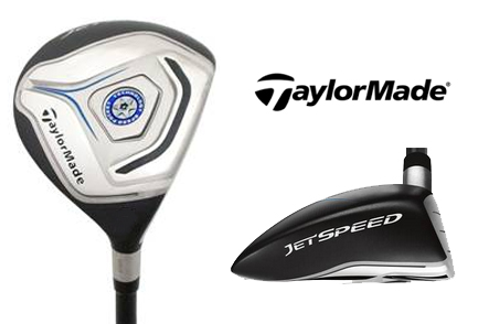 Set of TaylorMade Jetspeed #3 and #5 Fairway Woods PLUS a TaylorMade Golf Hat