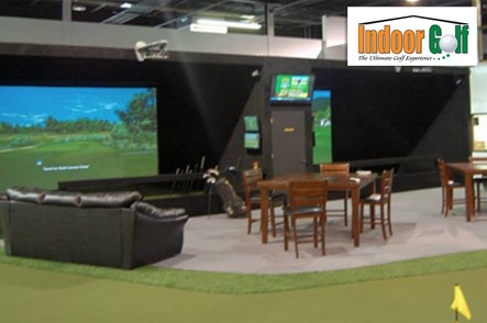 Indoor golf club of michigan michigan golf coupons for Indoor golf design