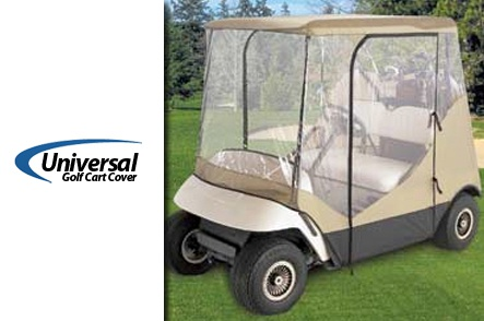 One Universal Golf Cart Cover
